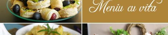 In acest MENIU CU VITA va propun o combinatie foarte potrivita pentru un pranz de dumnica sau pentru o masa la care tocmai ai invitati socrii , sau parintii sau...